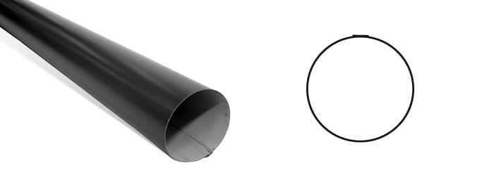 round downpipe