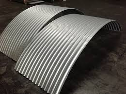 curved corrugated roofing
