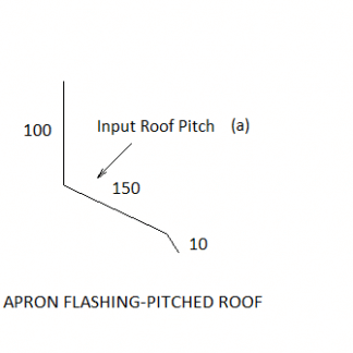apron pitch(a)